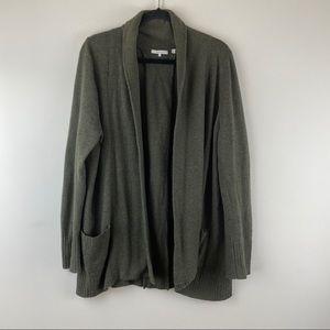 360 Cashmere Shawl Collar Cardigan Size Large